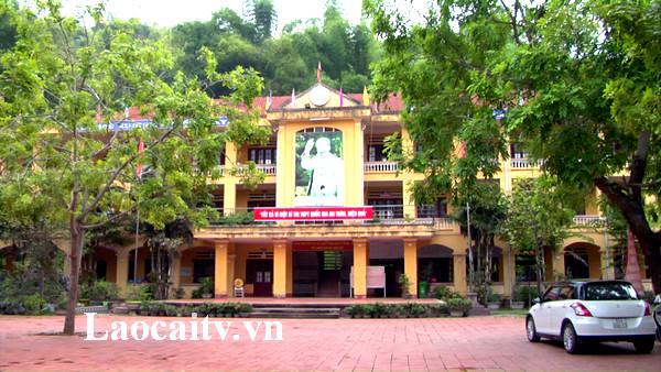 Trường THPT số 2, thành phố Lào Cai là một trong điểm thi trong Kỳ thi THPT Quốc gia 2019