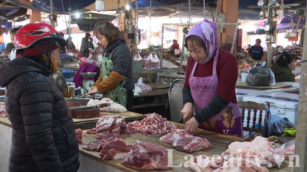 Thịt lợn tăng giá do nguồn hàng khan hiếm.