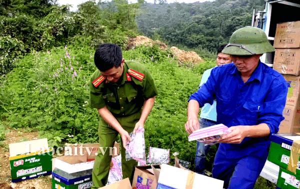 Lực lượng chức năng đã tiến hành tiêu hủy toàn bộ lô hàng kể trên theo đúng quy định của pháp luật.