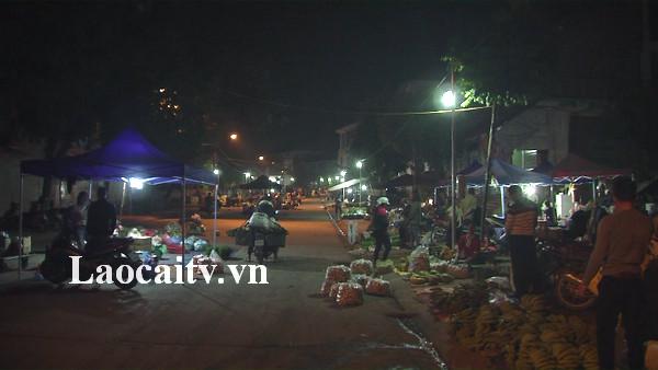 Tạm dừng hoạt động chợ đêm tại chợ đầu mối nông sản Kim Tân.